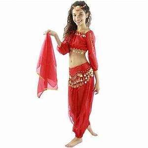 Bollywood Long Lantern 5-Piece Children Belly Dance ...
