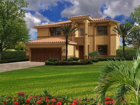 House Small Mediterranean Style Plans Spanish Tuscan