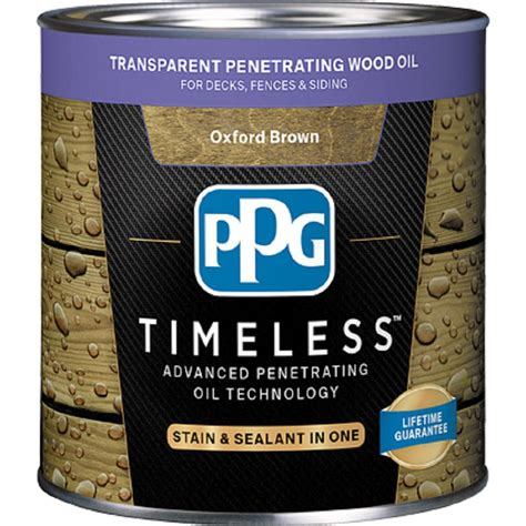 ppg timeless  oz tpo  oxford brown transparent