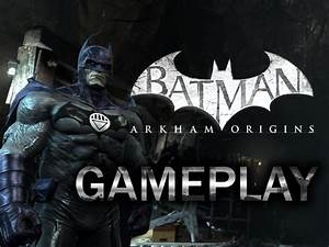 Batman Arkham Origins Blackest Night Skin PC PhysX Maxed ...