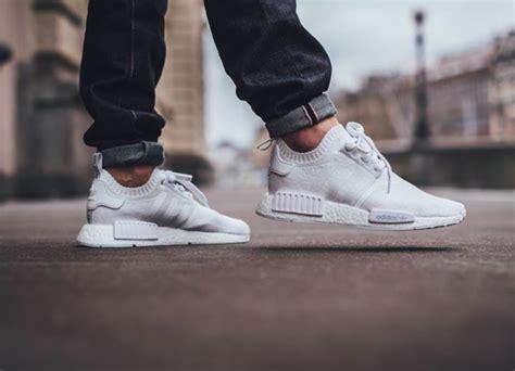 adidas nmd runner primeknit vintage white