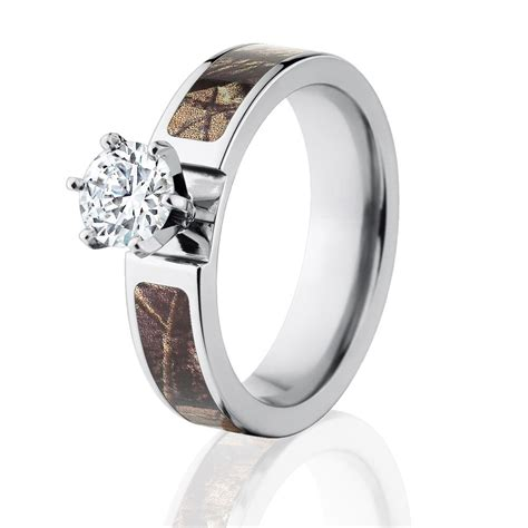 official licensed realtree ap engagement camo bands 1ct cz camo wedding rings ebay