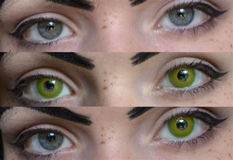 green color contacts contact lenses green in 2019 creepers