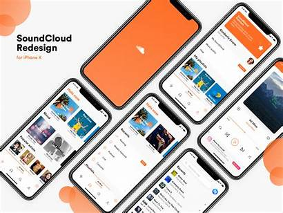 Soundcloud Redesign Ui Uplabs Uibundle Dribbble