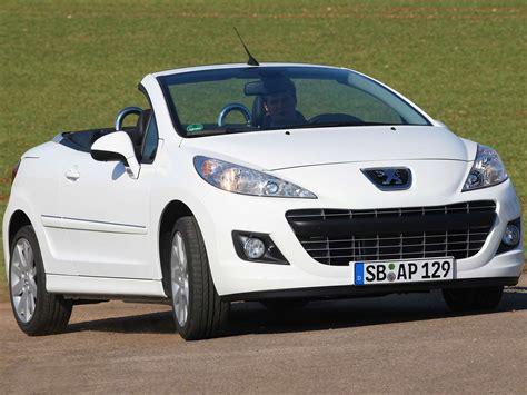 Peugeot 207 Cc by Peugeot 207 Cc Kaufberatung Autozeitung De