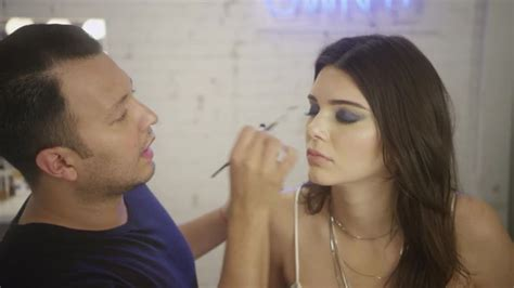 kendall jenners makeup artist give