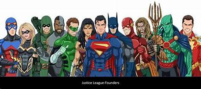 Justice League Cho Phil Founders Earth 27