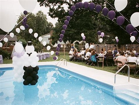 17 best images about poolside wedding on floating candles pool candles and backyard