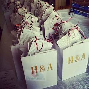 25 best ideas about wedding welcome bags on pinterest With wedding gift for guests