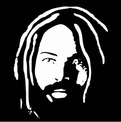 Abu Silhouette Jamal Mumia Clip Person Clipart