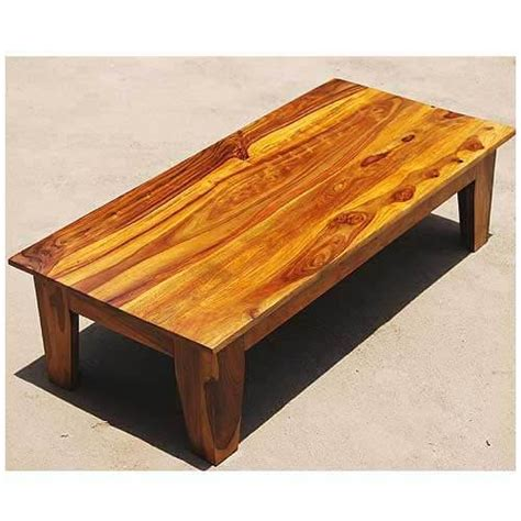 Making your own coffee table allows you to step away from the basic rectangle of wood and create a cool expression of your style. Kenosha Solid Wood Large Rectangle Coffee Table