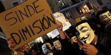 Los ciberactivistas de Anonymous tumban la página web de