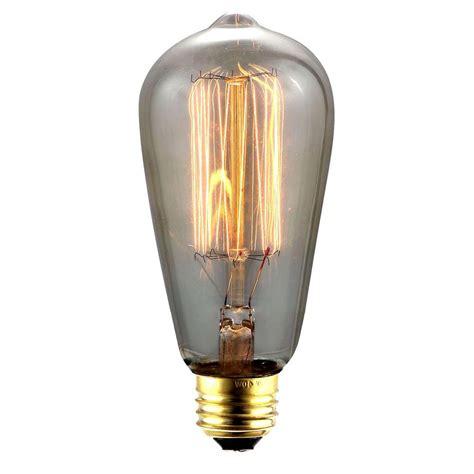 lighting 40 w incandescent e26 vintage edison