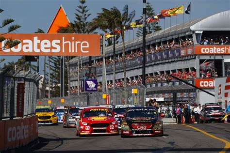 supercars announces newcastle  axed   schedule
