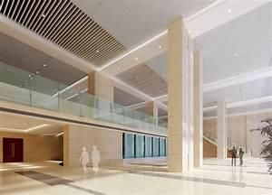 business lobby design | Business office building lobby ...