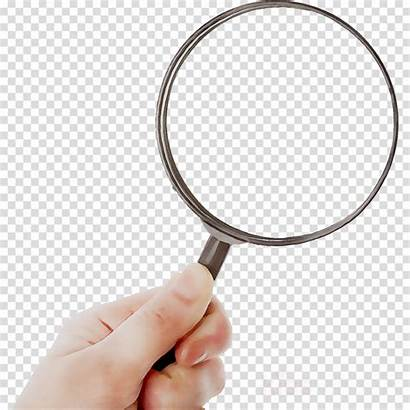 Magnifying Glass Clipart Finger Circle Professional Magnifier