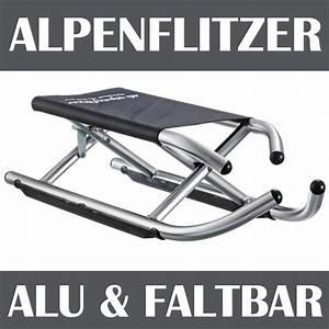 Alu Sitzkissen Faltbar : alpenflitzer alu schlitten aluschlitten rodel klappbar ~ Watch28wear.com Haus und Dekorationen