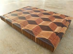 3D Wood Cutting Board