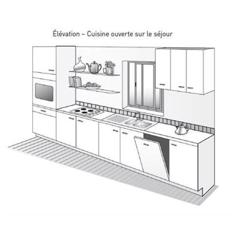 plan de cuisine en u plan de cuisine maison