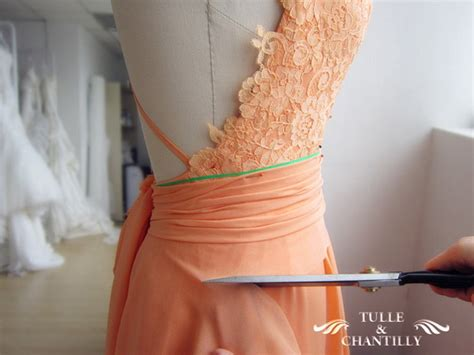 design   dress long backless lace prom dress