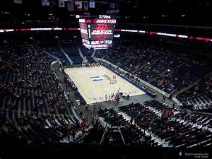 Nationwide Arena Section 226 Basketball Seating
