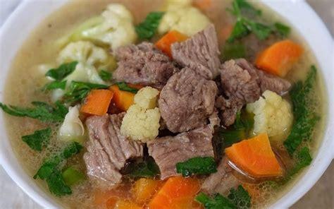 Selain itu, sangat mudah dibuat lho. Resep Sayur Sop Daging, Masakan Rumahan Paling Populer : Okezone Lifestyle