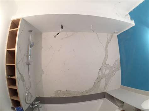 Rénovation D'une Petite Salle De Bain, Finition Haut De