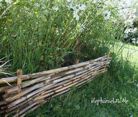 faire soi m 234 me un potager en carr 233 s des all 233 es en bois et des bordures de jardin en bambou