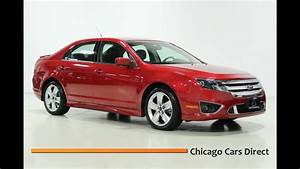 Chicago Cars Direct Presents A 2010 Ford Fusion Sport Awd