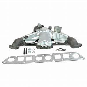 Cast Iron Exhaust Manifold W   Gasket Kit For Cherokee