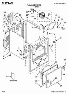 Maytag Model Medc400vw0 Residential Dryer Genuine Parts
