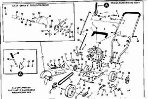 Craftsman 53687051 Lawn Edger Parts