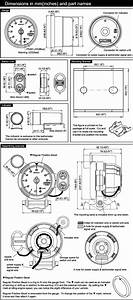 Bf Tachometer Specifications