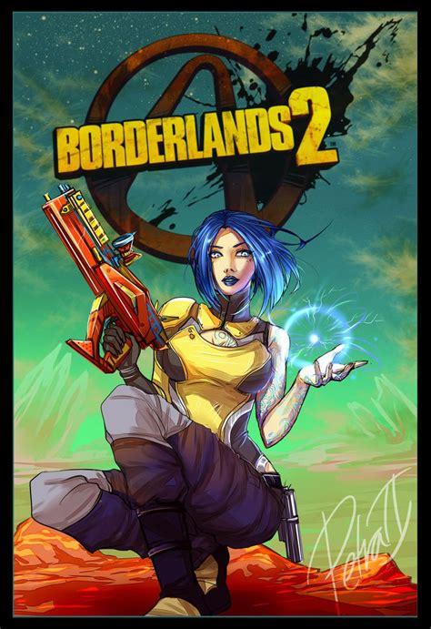 Borderlands Fan Art Maya Created By Petradragoon Epic
