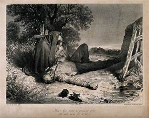 File:A man lying dead on the ground with a broken bottle ...