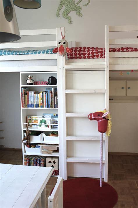 Ikea Kinder Etagenbett by Unser Hochbett Marke Eigenbau Mit Ikea Kinderzimmer