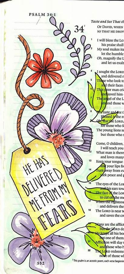 Bible Journaling Scripture Creative Psalms Journal Lighthouse