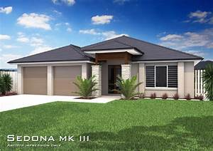 Sedona MKIII - Hip Roof , Home Design, Tullipan Homes
