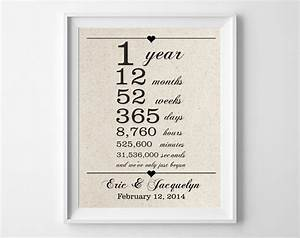 1st anniversary gift for husband wife one 1 year wedding With one year anniversary wedding gifts
