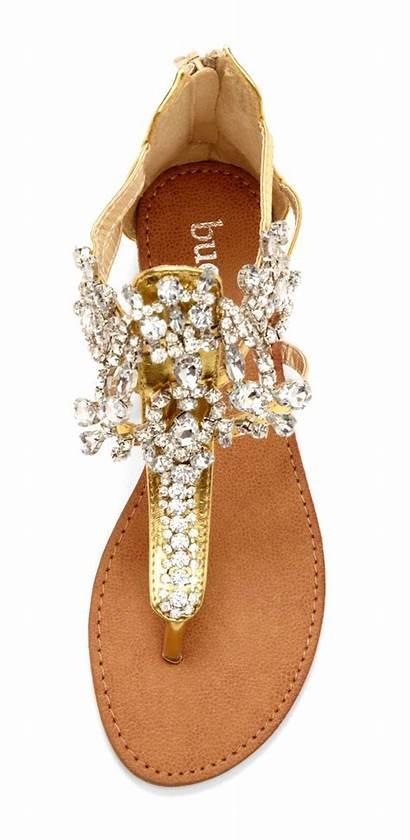 Sandals Jeweled Shoes Hardpin Hautelook Flats Flat