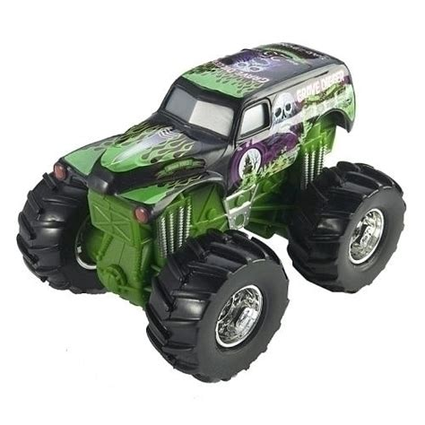 wheels grave digger monster truck wheels 1 43 scale rev tredz monster truck grave