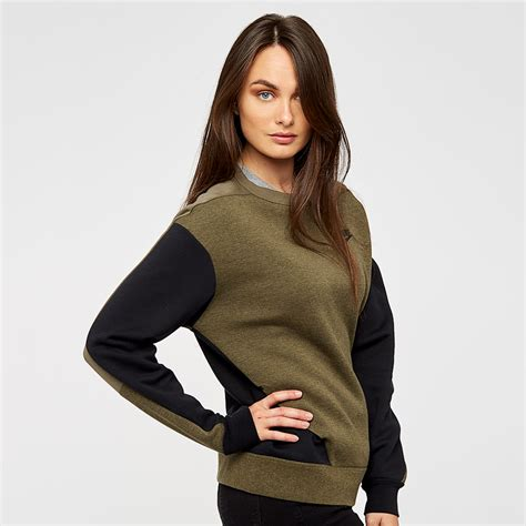 Womens Clothing - Nike Sportswear Womens Tech Fleece Crew ...