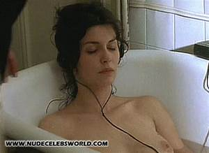Da vinci code star audrey tautou naked surprised listening for Bathroom porm