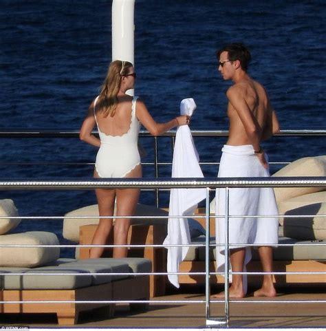 ivanka kushner trump jared geffen david croatia yacht bikini shirtless billionaire swimsuit hawaii jet suit bathing melania skiing hillary beach