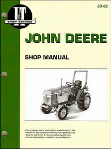 John Deere Tractor Repair Manual By I U0026t  Clymer 670  770