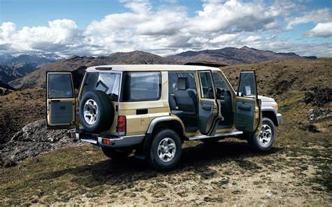 The 2021 toyota landcruiser 70 series carries a braked towing capacity of up to 3500 kg, but check to ensure this applies to the configuration you're considering. Toyota Land Cruiser 70 Series Re-release Photo Gallery ...