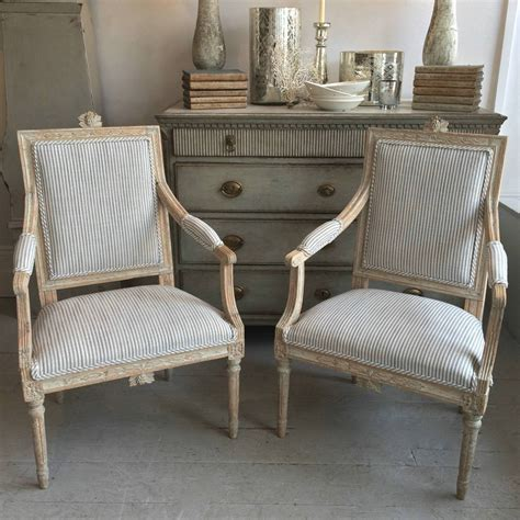 Exquisite Gustavian Armchairs Trendfirst