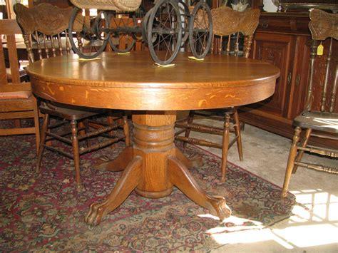 oak clawfoot table for sale z 39 s antiques restorations antique oak walnut and pine
