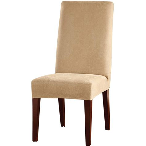 sure fit scroll brown wing chair slipcover walmart