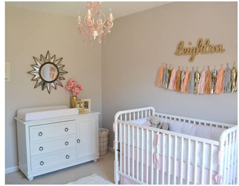 leighton kate 39 s pink and gold nursery project nursery